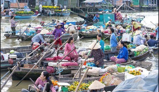 Khu du lịch Chợ nổi Cái Răng Cần Thơ