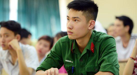 các trường quân đội khối C
