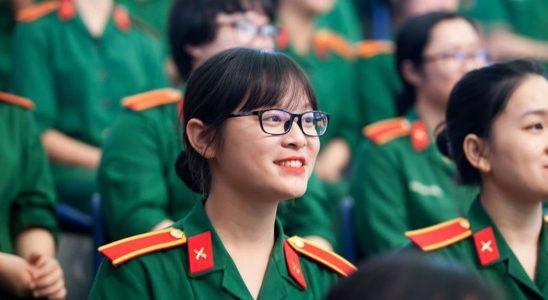 các trường quân đội tuyển nữ khối C